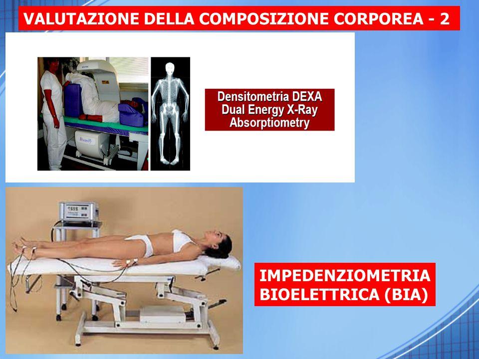 IMPEDENZIOMETRIA BIOELETTRICA (BIA) VALUTAZIONE DELLA COMPOSIZIONE CORPOREA - 2