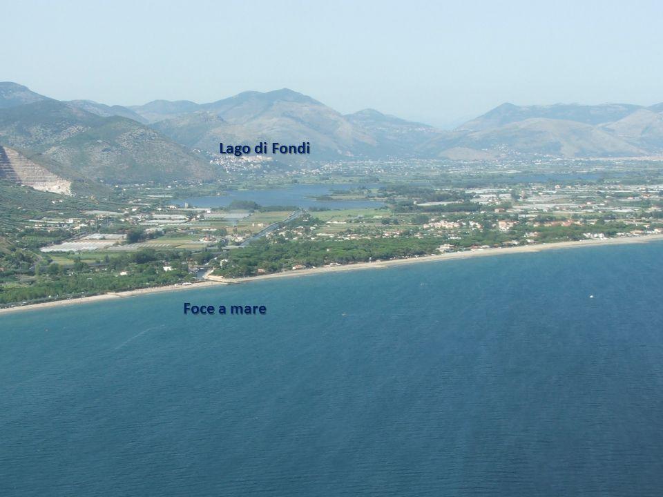 Lago di Fondi Foce a mare