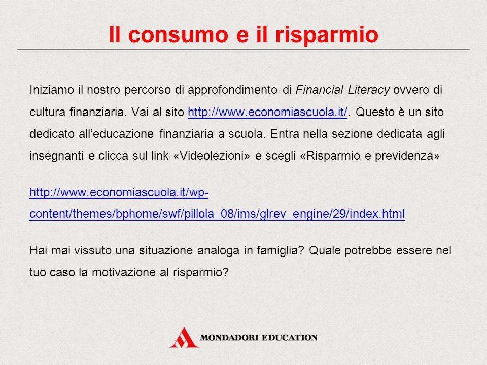 Prosegue il nostro percorso di cultura finanziaria… Vai al sito http://www.economiascuola.it/.