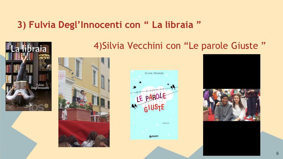 7 A cura di J.Philip Cayog e Neil Umandal (3 a A) 5) Luca Cognolato e Silvia Del Francia con L'eroe Invisibile