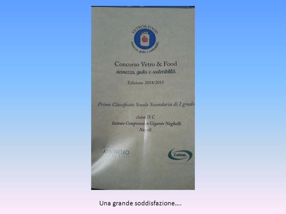 Concorso nazionale Vetro & Food I.C.53 Gigante-Neghelli Napoli Classe IIC