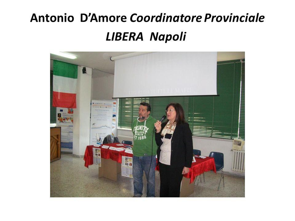 Luigi Cuomo Portavoce Associazione Antiracket Pianura per la legalità in memoria di Gigi e Paolo