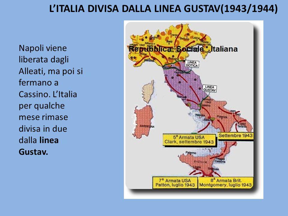 Napoli viene liberata dagli Alleati, ma poi si fermano a Cassino.