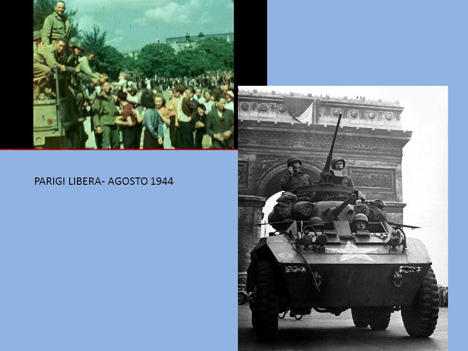 PARIGI LIBERA- AGOSTO 1944