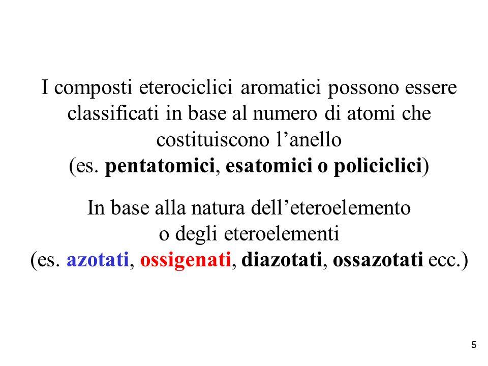 Se osserviamo l'elenco dei dieci farmaci maggiormente prescritti a livello mondiale (anno 2000) è possibile individuare alcuni aspetti che accumulano le loro strutture Oltre la presenza di eteroatomi, contengono tutti (ad eccezione di uno) almeno due anelli Inoltre, eccetto che in due casi, gli anelli non sono costituiti da soli atomi di carbonio (carbocicliche) ma presentano anche eteroatomi come ossigeno azoto e zolfo e sono pertanto detti eterociclici Omeprazolo (Prilosec) antiulcera Atorvastatina (Lipitor) riduttore del colesterolo Calecoxib (Celebrex) antiartritico Loratadina (Claritin) antistaminico