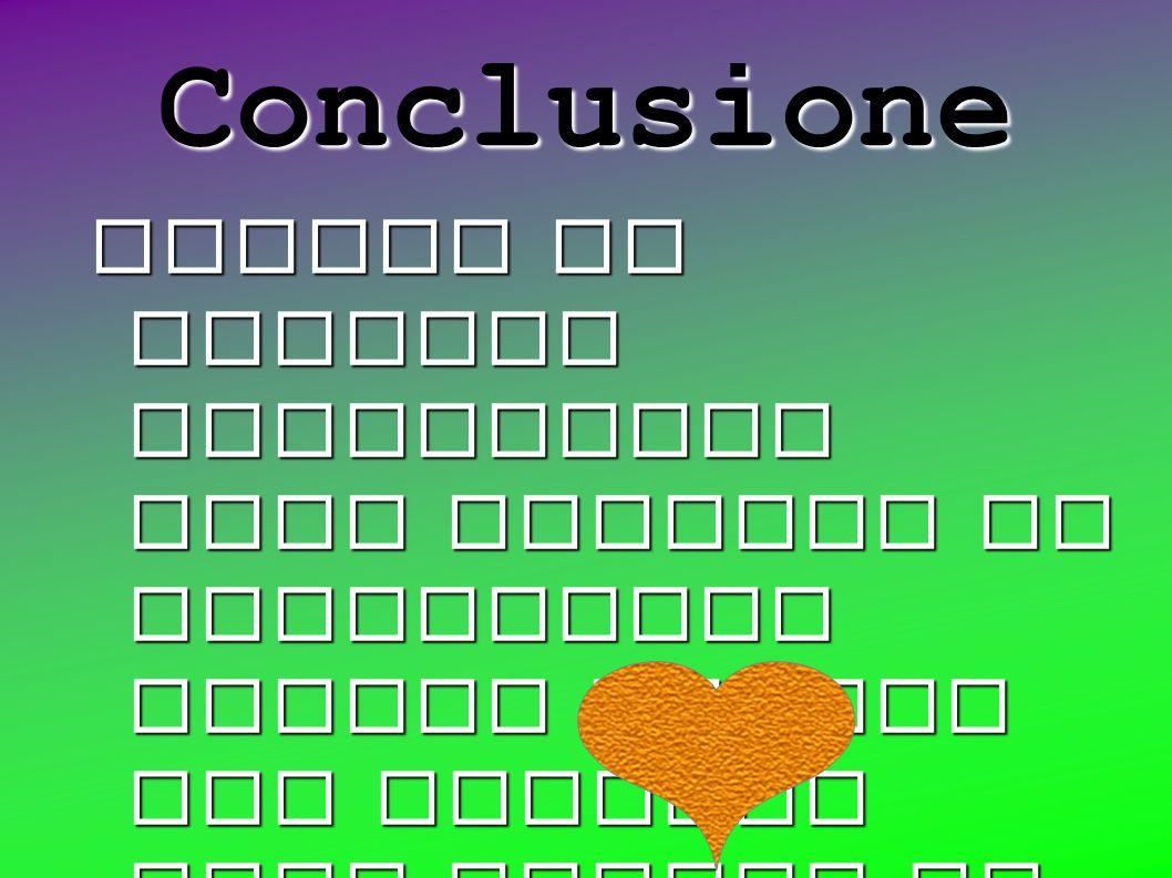 Conclusione Quando le cariche elettriche sono opposte si attraggono mentre quando due cariche sono uguali si respingono