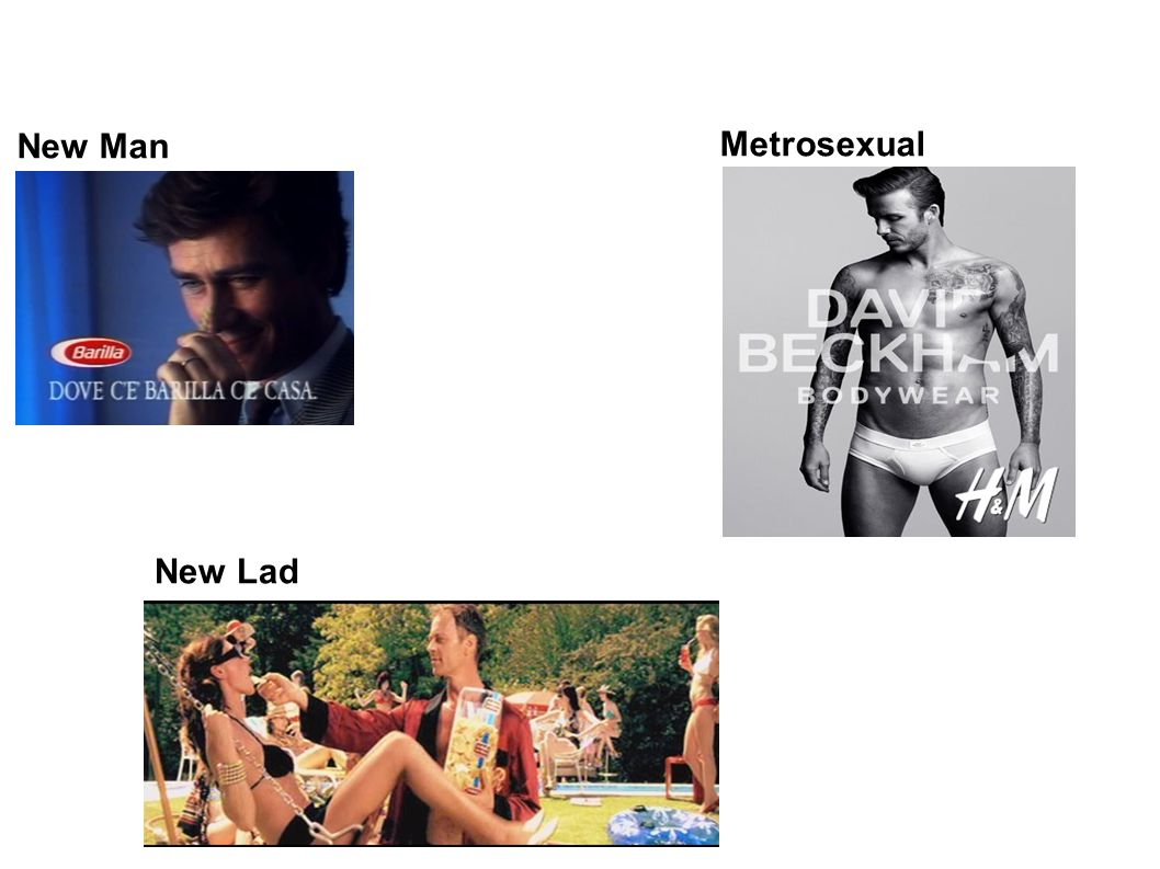 New Man Metrosexual New Lad