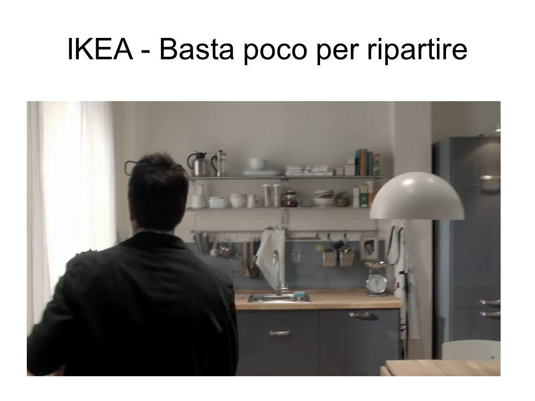 IKEA - Basta poco per ripartire