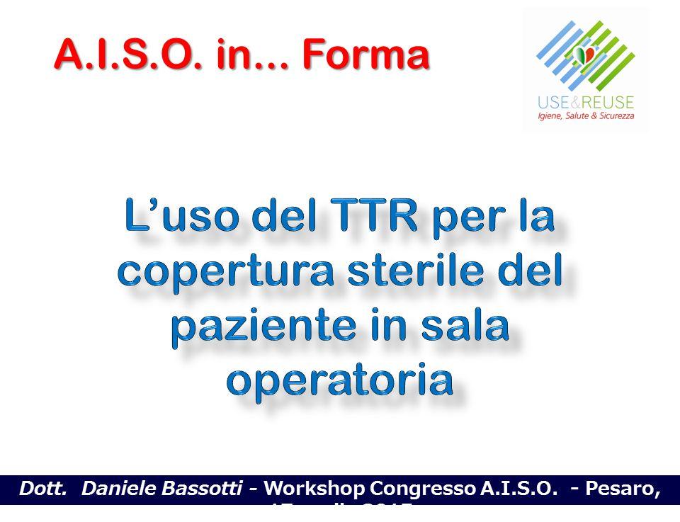 Dott. Daniele Bassotti - Workshop Congresso A.I.S.O. - Pesaro, 17 aprile 2015 A.I.S.O. in... Forma