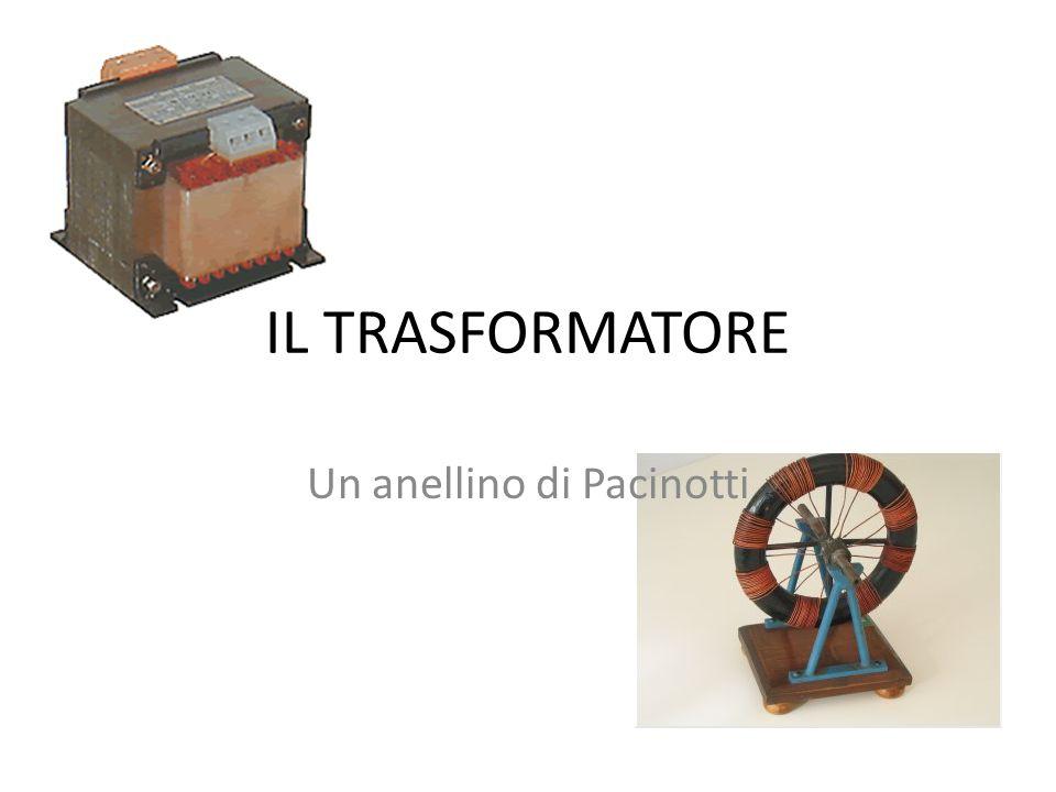 IL TRASFORMATORE Un anellino di Pacinotti
