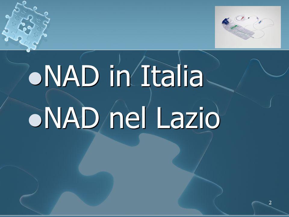 2 NAD in Italia NAD nel Lazio NAD in Italia NAD nel Lazio