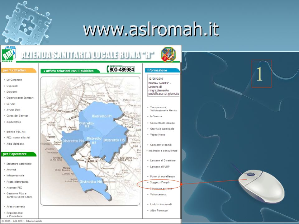 www.aslromah.it 1