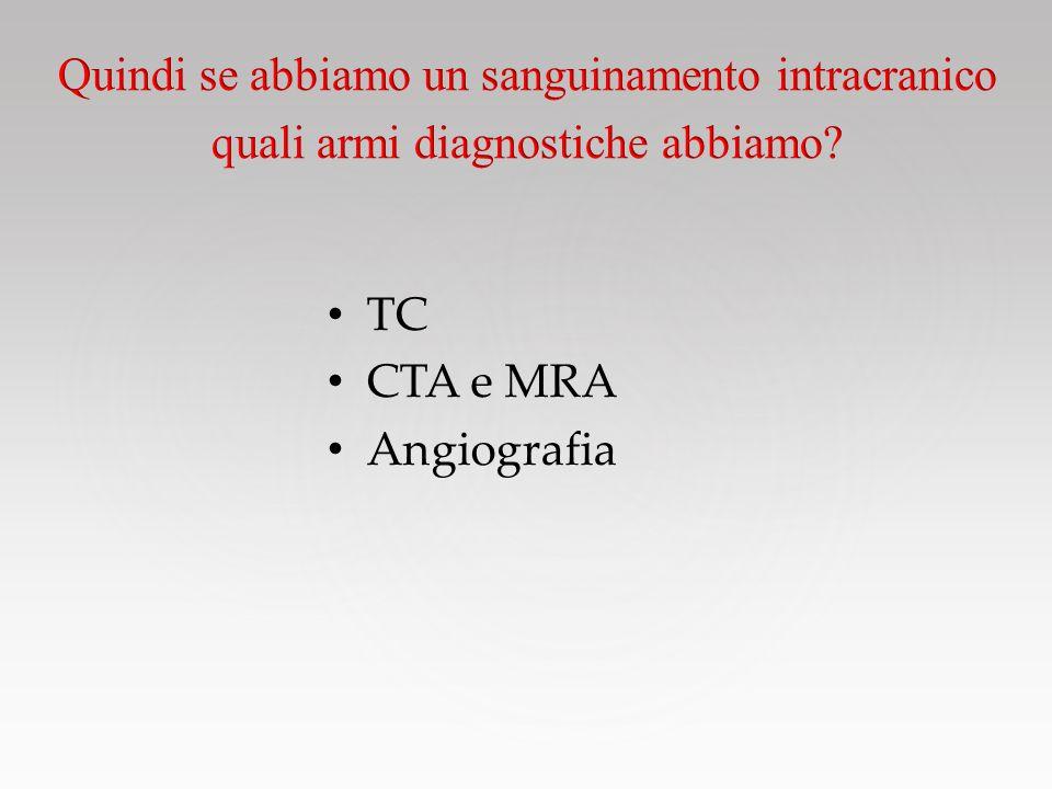 TC CTA e MRA Angiografia