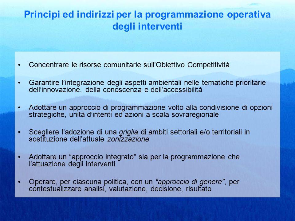 Governance e Partenariato Una volta delineato il quadro istituzionale della coesione, per l'elaborazione del Programma Operativo Regionale (POR), si seguiranno le procedure di consultazione previste dalle leggi di programmazione (Statuto regionale, art.