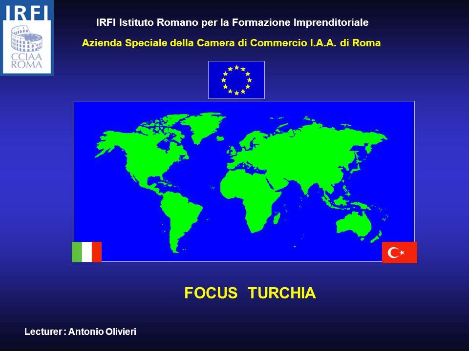 IRFI Istituto Romano per la Formazione Imprenditoriale Azienda Speciale della Camera di Commercio I.A.A.