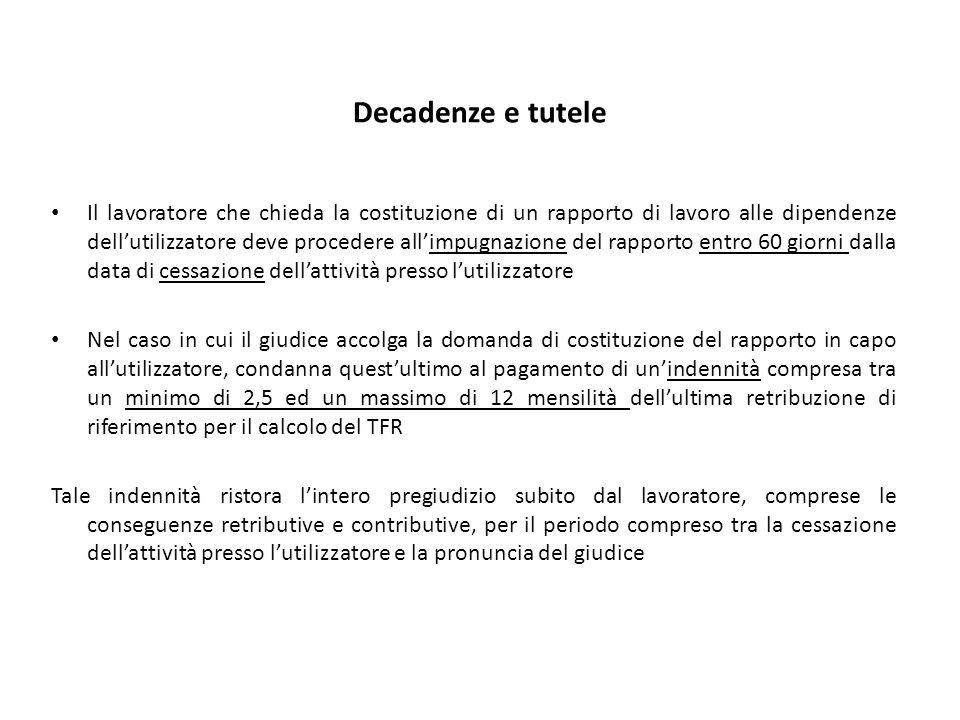 Il lavoro accessorio Artt.48-50 Schema D.Lgs.