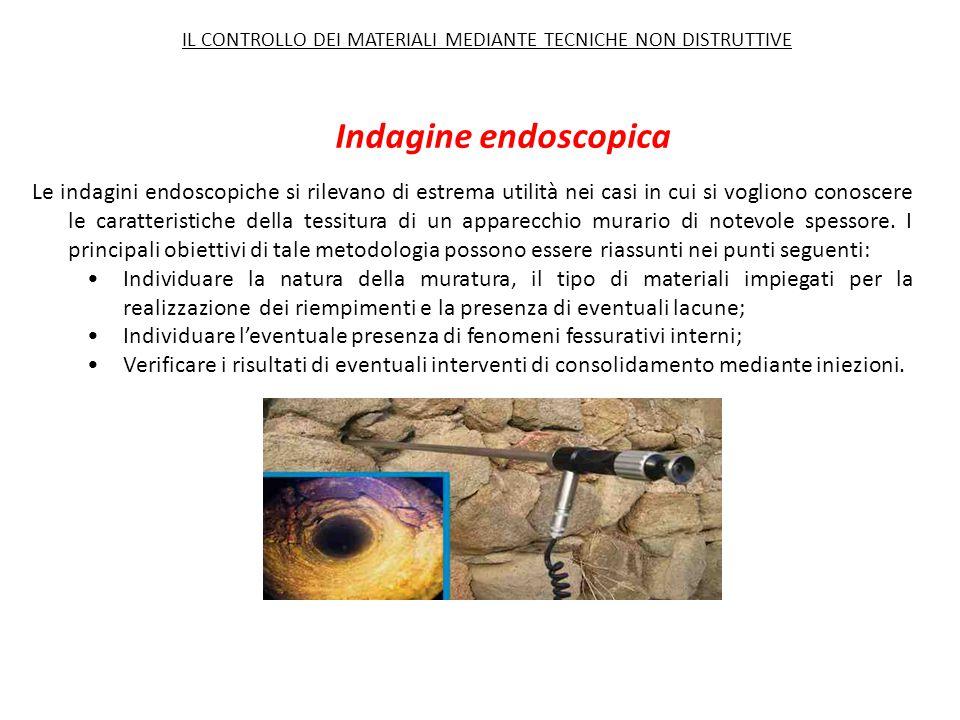 Indagine endoscopica Le indagini endoscopiche si rilevano di estrema utilità nei casi in cui si vogliono conoscere le caratteristiche della tessitura
