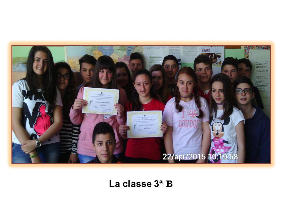La classe 3 ª B