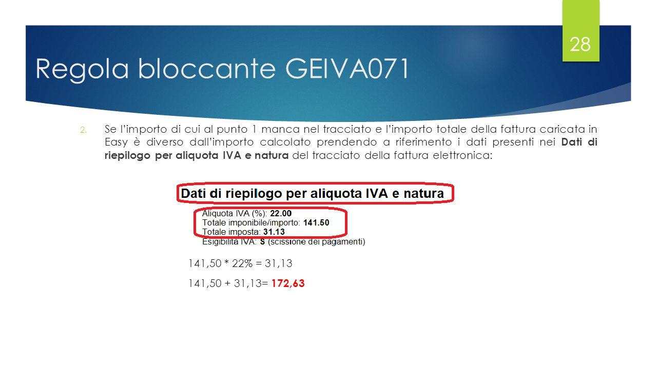 Regola bloccante GEIVA071 2.