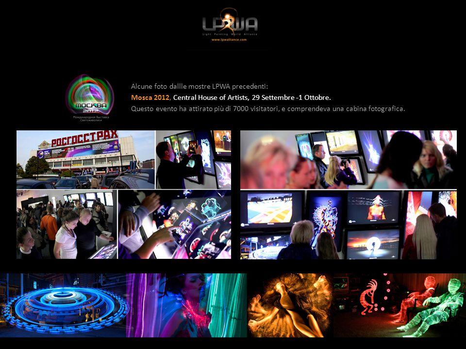 Alcune foto da mostre LPWA precedenti: Parigi 2013, Espace Pierre Cardin, 14-15 dicembre.