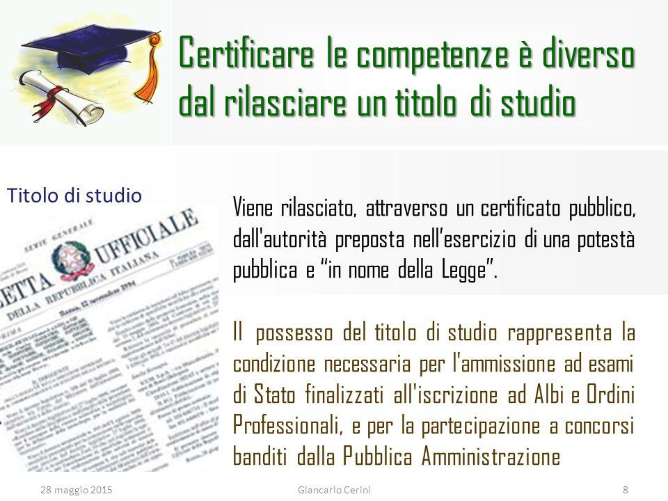 Ha una padronanza della lingua italiana tale da consentirgli di comprendere enunciati, di raccontare le proprie esperienze e di adottare un registro linguistico appropriato alle diverse situazioni.