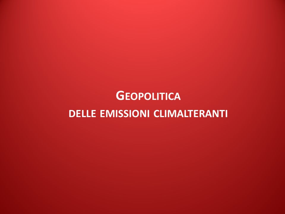 ISPI Energy Watch E MISSIONI GHG / L' EVOLUZIONE ATTESA Mt CO 2 New Policies Scenario - Fonte: IEA(2014).