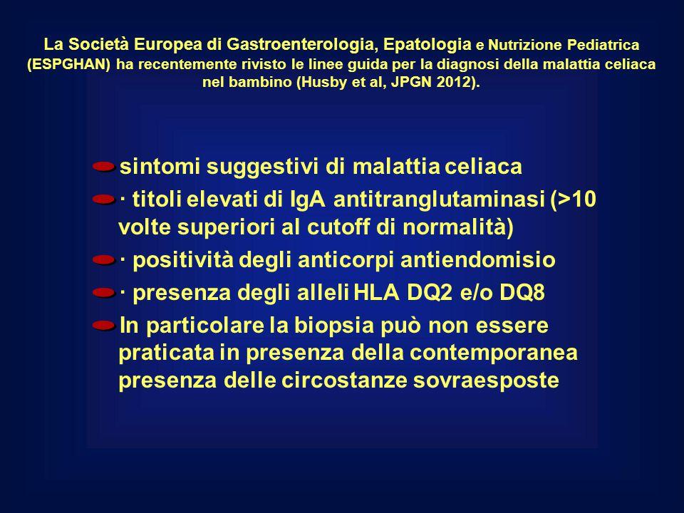La Società Europea di Gastroenterologia, Epatologia e Nutrizione Pediatrica (ESPGHAN) ha recentemente rivisto le linee guida per la diagnosi della mal