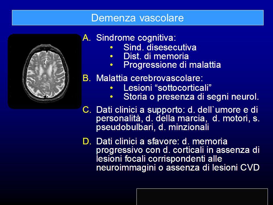 Demenza vascolare