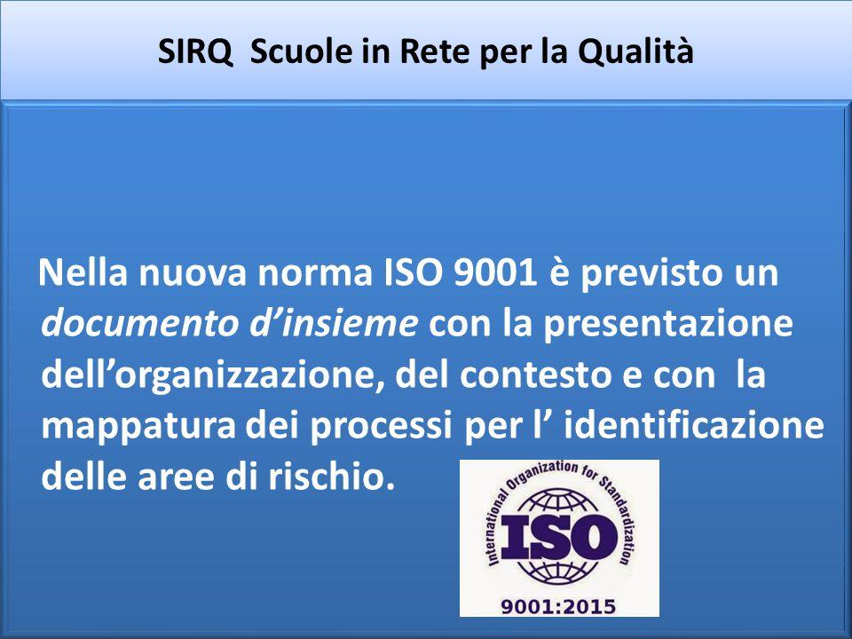 SIRQ Scuole in Rete per la Qualità Per il Marchio SAPERI ogni scuola adotta la documentazione e le procedure che ritiene necessarie per il proprio funzionamento e per il miglioramento.
