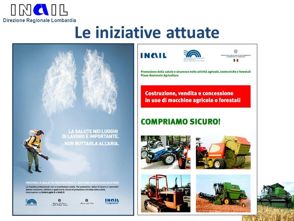 Le iniziative attuate Direzione Regionale Lombardia