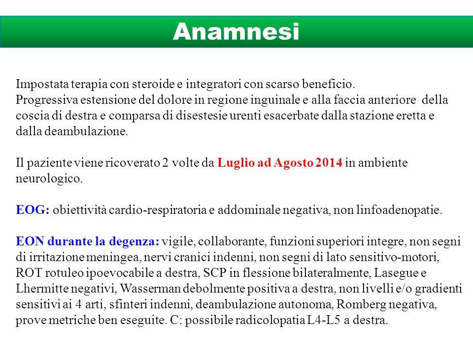 T1T2Gd Diagnosi Linfoma Primitivo della cauda Esami strumentali