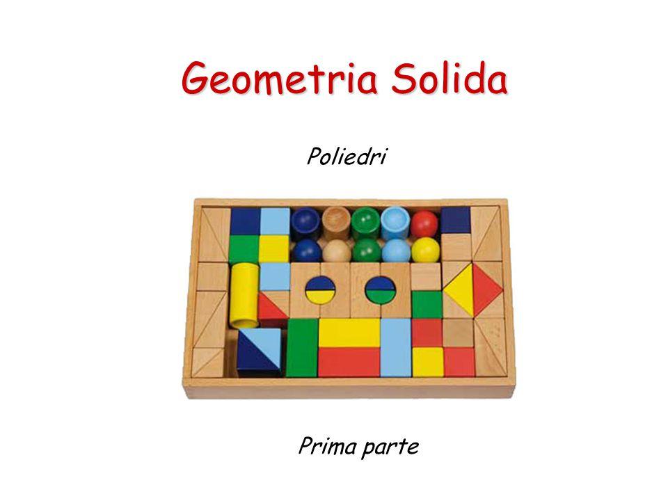 Geometria Solida Poliedri Prima parte