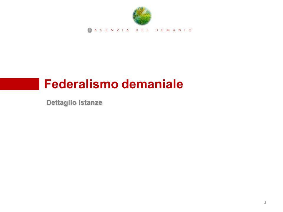 Sindaco Dario De Luca COMUNE DI POTENZA 44 A G E N Z I A D E L D E M A N I O Federalismo demaniale ex art.