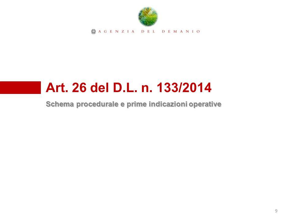 Una diversa forma di Federalismo, l'Art.26 del D.L.