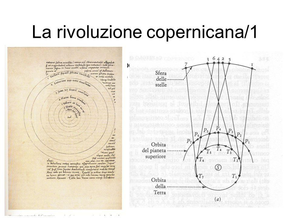 La rivoluzione copernicana/1 La teoria astronomica copernicana (De revolutionibus orbium caelestium, 1543): il moto della terra, l'ordinamento delle s