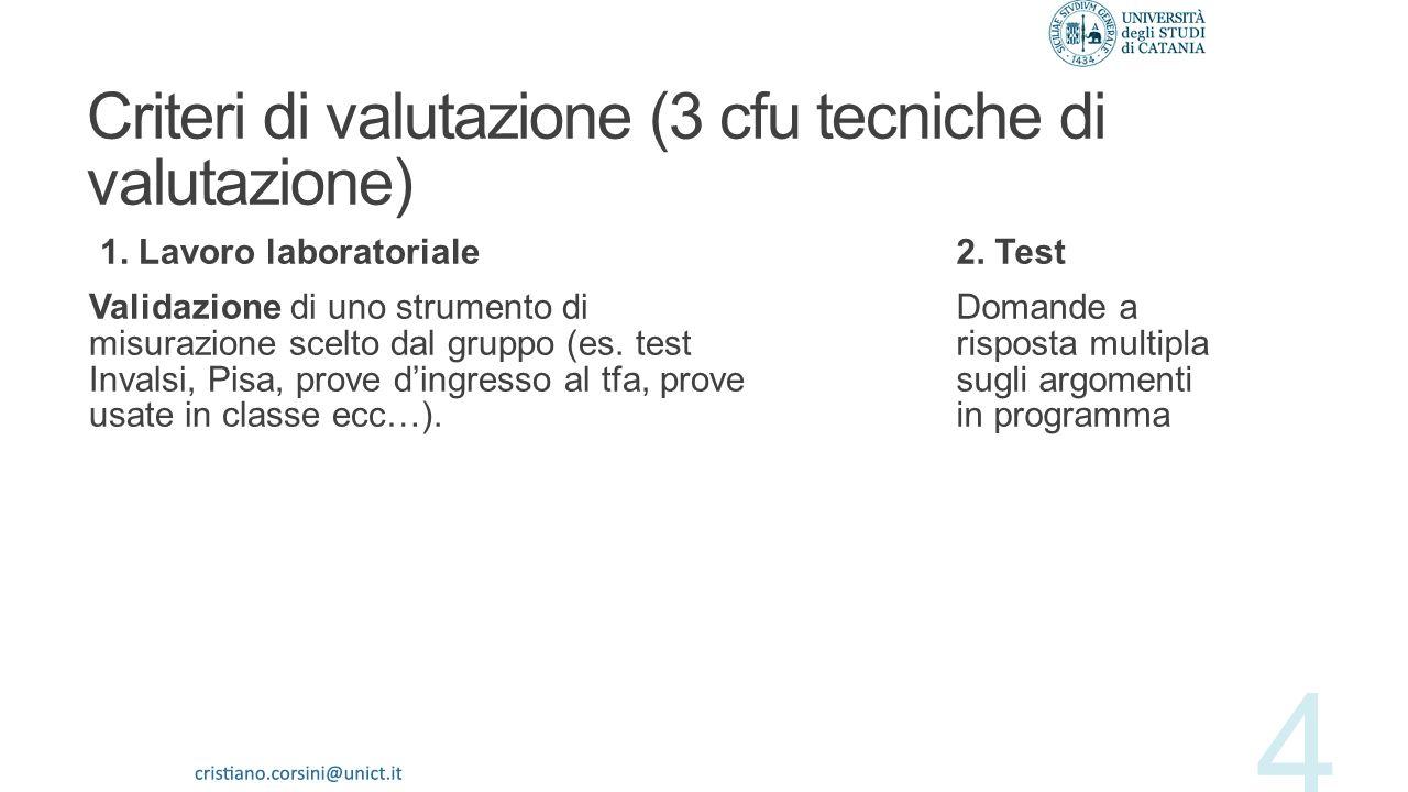 Cinque concetti fondamentali 1.Valutazione 2.Misurazione (e oggettività) 3.Validità (e validazione) 4.Affidabilità 5.Rapporto tra valutazione e motiva