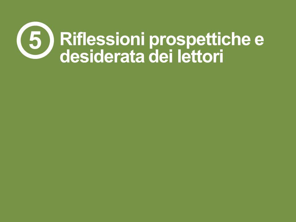 107R.15.103 Riflessioni prospettiche e desiderata dei lettori 5