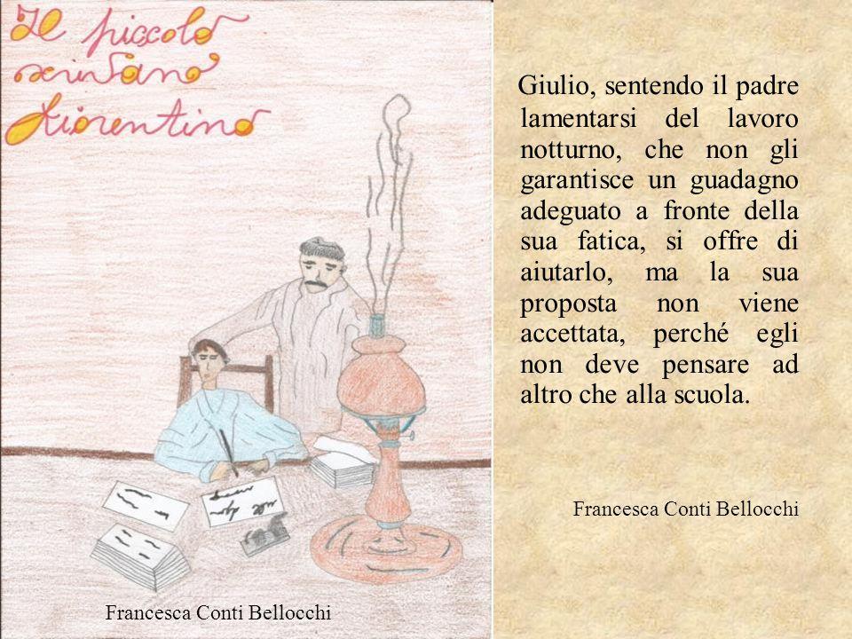 Giulio, sentendo il padre lamentarsi del lavoro notturno, che non gli garantisce un guadagno adeguato a fronte della sua fatica, si offre di aiutarlo,