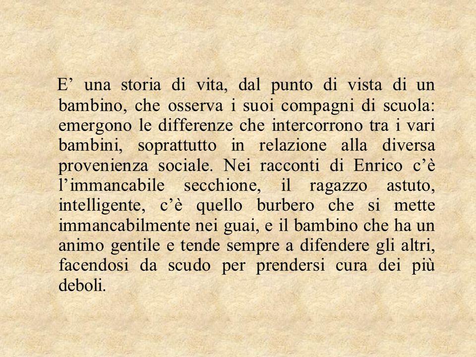 Lo scrittore mostra nel suo libro un'Italia priva di radici comuni che cerca, con molta difficoltà, di superare le differenze di ceto e cultura e che non è ancora del tutto Unita .