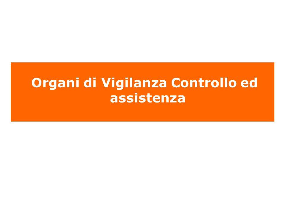 Organi di Vigilanza Controllo ed assistenza