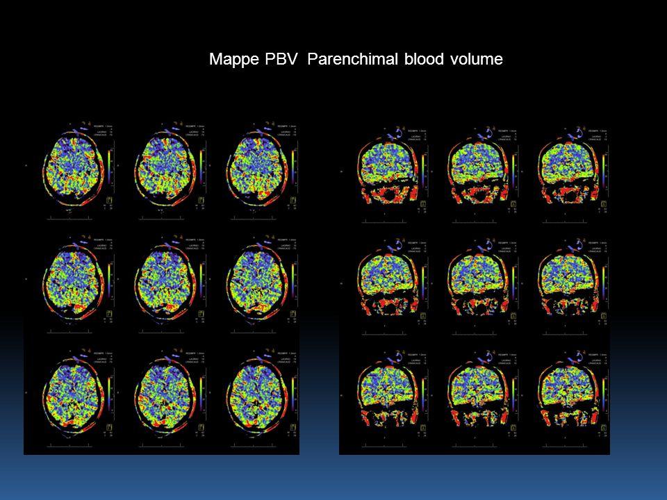 Mappe PBV Parenchimal blood volume