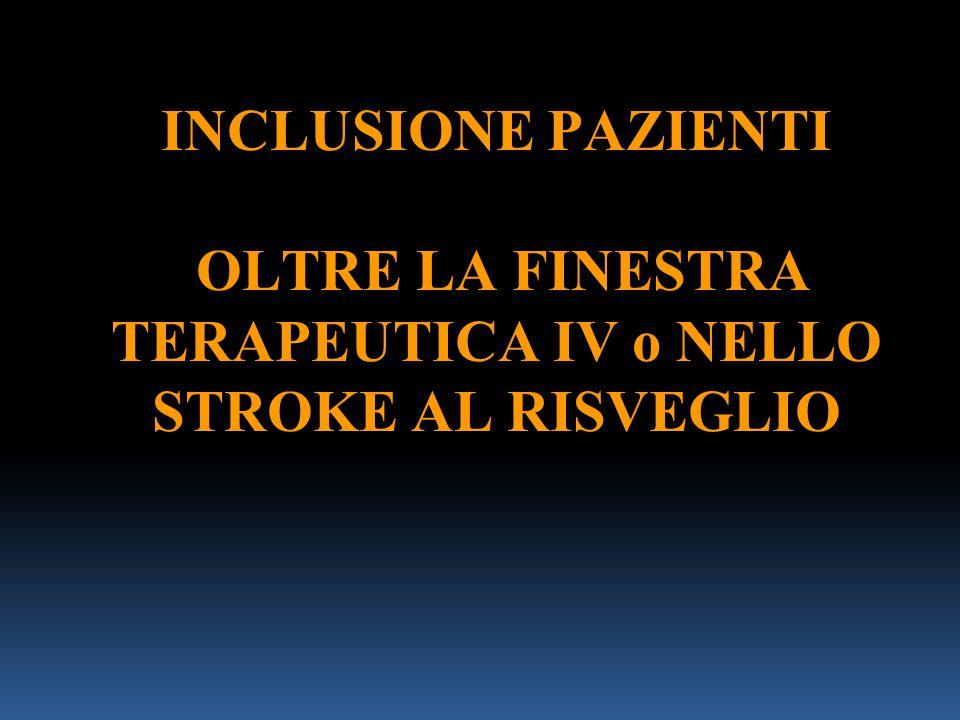 Occlusione ACM Non visibile a.lenticolare laterale Collaterali leptomeningei efficaci