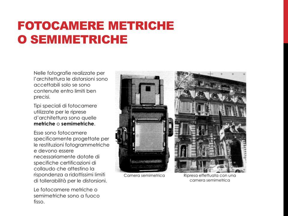 FOTOCAMERE METRICHE O SEMIMETRICHE