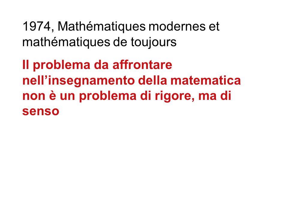 """1.Il modernismo. Le necessità culturali e strumentali dei matematici devono necessariamente ricadere sull'insegnamento secondario? 2. Di tutti i """"gioc"""
