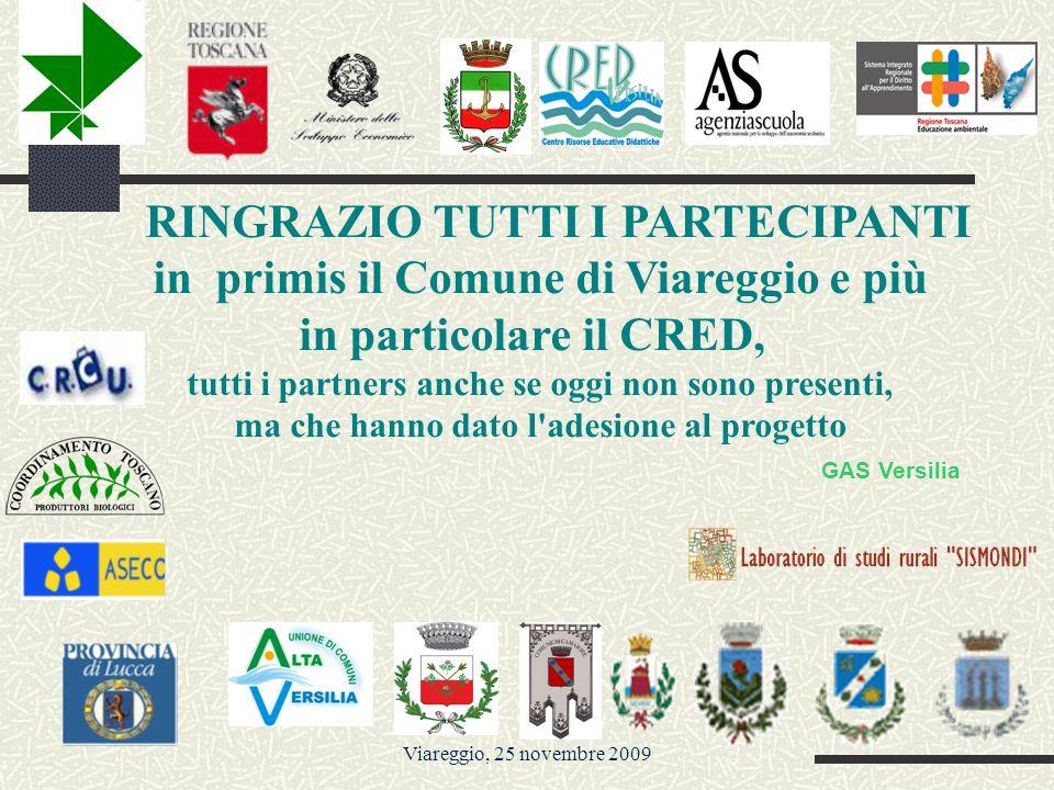 Viareggio, 25 novembre 2009 … da dove abbiamo cominciato con il progetto....