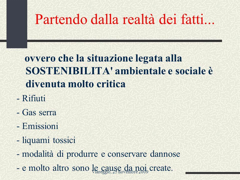 Viareggio, 25 novembre 2009...