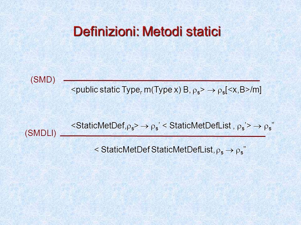   s [ /m]   s [ /m]   s '   s   s '   s < StaticMetDef StaticMetDefList,  s   s < StaticMetDef StaticMetDefList,  s   s (SMD) (SMDLl) Definizioni: Metodi statici
