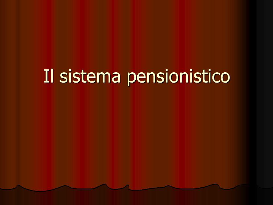 in via sperimentale per un periodo temporale di 9 anni (dall'inizio del 2007 alla fine del 2015) è previsto un contributo di solidarietà nella misura del 4 per cento , che graverà sui trattamenti pensionistici corrisposti da enti gestori di forme di previdenza obbligatorie i cui importi risultino complessivamente superiori a venticinque volte la pensione minima per gli ultrasettantenni stabilita dalla legge finanziaria del 2002 (ca.€13.000/mese)
