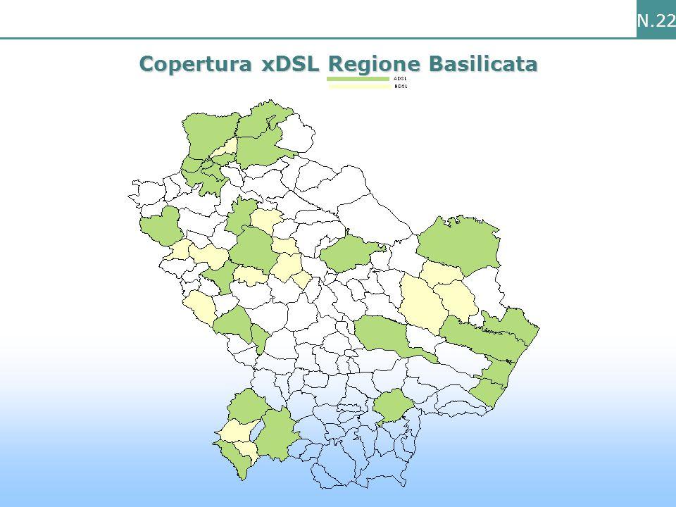 N.22 Copertura xDSL Regione Basilicata