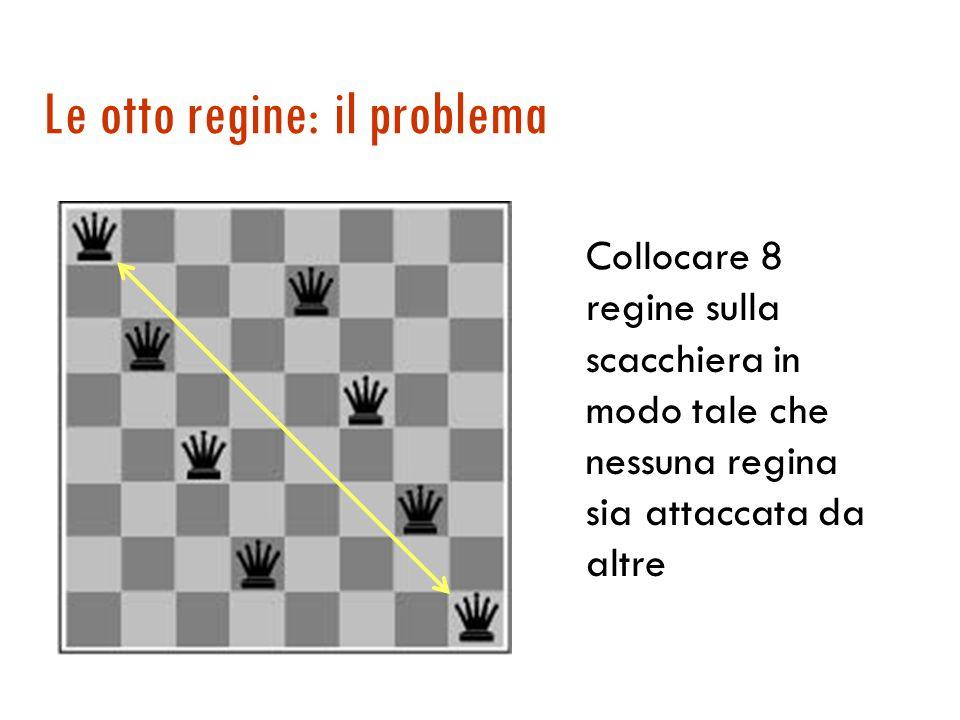 Puzzle dell'otto: formulazione  Stati: configurazioni della scacchiera  Stato iniziale: una certa configurazione  Obiettivo: una certa configurazione Goal-Test: Stato obiettivo.